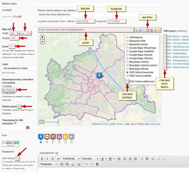 content plugins leaflet maps marker fullscreen