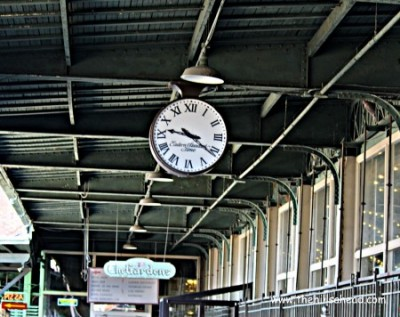Chattanooga Choo Choo Clock