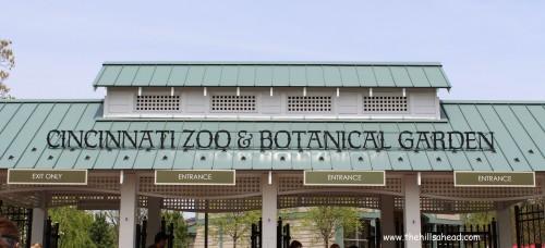 Cincinatti Zoo entrance