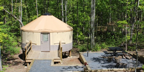 Cloudland Canyon Yurt