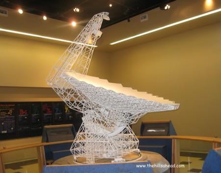 Greenbank Main Radio Telescope Model