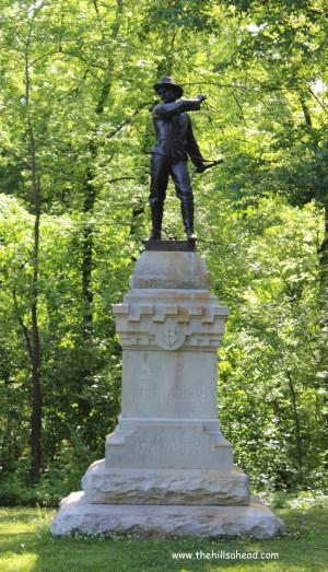 Chickamaug Battlefield TN Monument