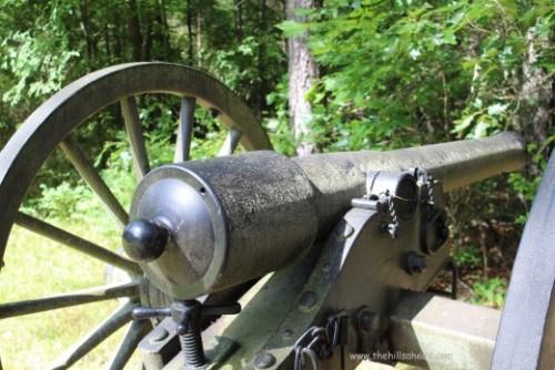 Chickamauga Battlefield cannon