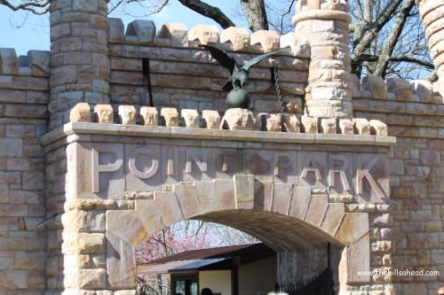 Point Park gate