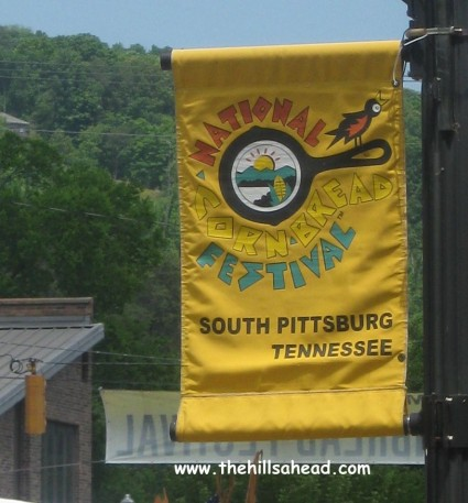 South Pittsburg Cornbread Fest Sign