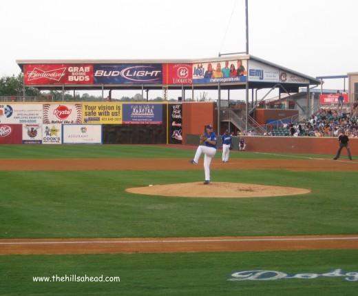Lookouts Baseball mound