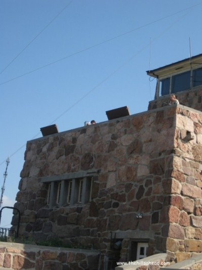CSP observation tower