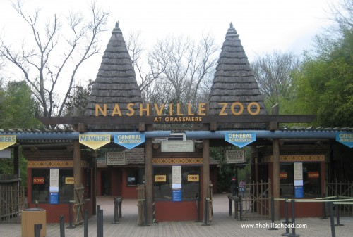 Nashville  Zoo sign